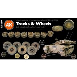 Tracks And Wheels Set - AK-Interactive - AK-11672