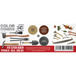 Standard Tools All Eras Combo Set - AK-Interactive - AK-11670