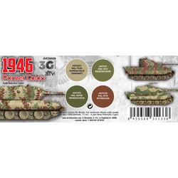 Panzer Colors 1946 Set - AK-Interactive - AK-11669