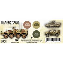 Bundeswehr Desert Colors Set - AK-Interactive - AK-11666