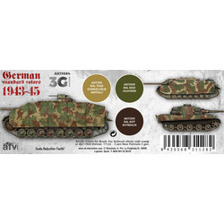 German Standard 44-45 Combo Set - AK-Interactive - AK-11664