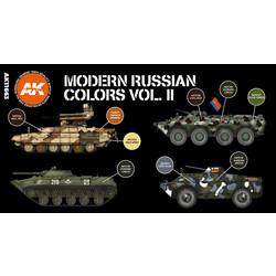 Modern Russian Colours Vol 2 Set - AK-Interactive - AK-11663