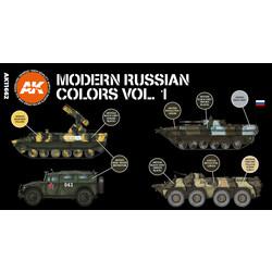Modern Russian Colours Vol 1 Set - AK-Interactive - AK-11662