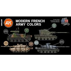 Modern French Afv Set - AK-Interactive - AK-11661