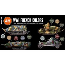 WWI French Colors Set - AK-Interactive - AK-11660