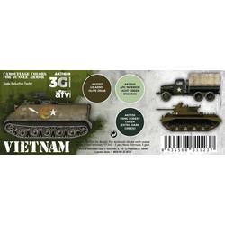 Vietnam Colors Set - AK-Interactive - AK-11659