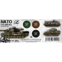 Nato Colors Set - AK-Interactive - AK-11658