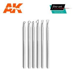 Mini Ribbon Tools - 6 pcs. - Fine Art - FA 595