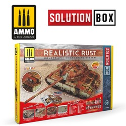 Solution Box 12  Realistic Rust - Ammo by Mig Jimenez - A.MIG-7719