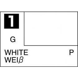 Mr Color White - 10ml - Mr Hobby / Gunze - MRH-C-001