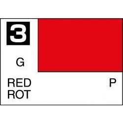 Mr Color Red - 10ml - Mr Hobby / Gunze - MRH-C-003