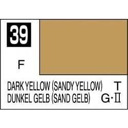 Mr Color Dark Yellow Sandy Yellow - 10ml - Mr Hobby / Gunze - MRH-C-039