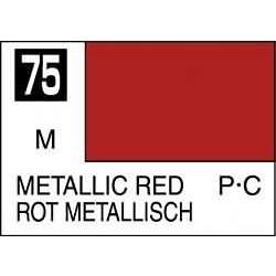 Mr Color Metallic Red - 10ml - Mr Hobby / Gunze - MRH-C-075