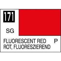 Mr Color Fluorescent Red - 10ml - Mr Hobby / Gunze - MRH-C-171