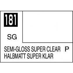 Mr Color Semi-Gloss Super Clear - 10ml - Mr Hobby / Gunze - MRH-C-181