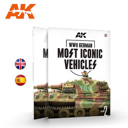 WWII German Most Iconic SS Vehicles. Vol 2 - English - AK-Interactive - AK-514