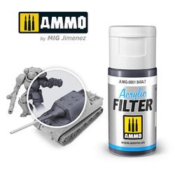 Acrylic Filter Basalt - 15ml - Ammo by Mig Jimenez - A.MIG-0801