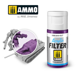 Acrylic Filter Violet - 15ml - Ammo by Mig Jimenez - A.MIG-0819