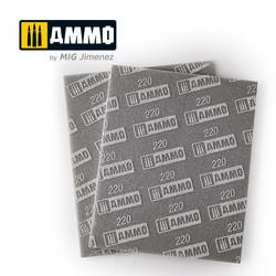 Sanding Sponge Sheet (Grain 220) - Ammo by Mig Jimenez - A.MIG-8557