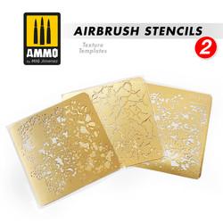 Airbrush Stencils #2 - Ammo by Mig Jimenez - A.MIG-8049