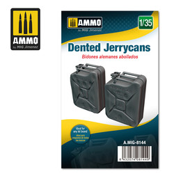 Dented Jerrycans- Scale 1/35 - Ammo by Mig Jimenez - A.MIG-8144