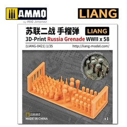 3D-Print Russia Grenade WWII x 58 - Scale 1/35 - Liang Models - LIANG-0421