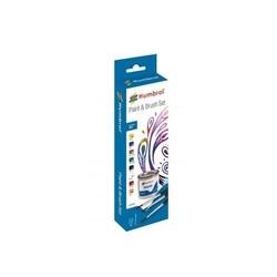 Enamel Paint & brush Matt Set - Humbrol - HAA9061