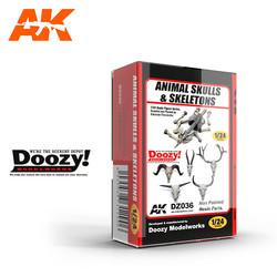 Animal Skulls & Skeletons - Scale 1/24 - Doozy - DZ036