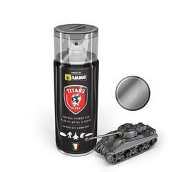 Titans Hobby Gun Metal Primer - 400ml - Ammo by Mig Jimenez - TTH117
