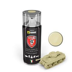 Titans Hobby Bone White Matt Primer - 400ml - Ammo by Mig Jimenez - TTH116