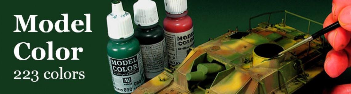 Model color van vallejo paint