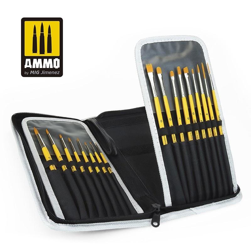 Ammo by Mig Jimenez AMMO Brush Arsenal - Brush Organization & Protective Storage - Ammo by Mig Jimenez - A.MIG-8580