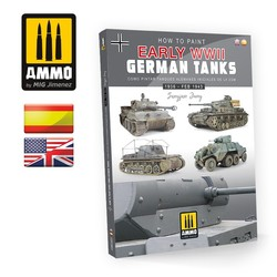 How to Paint Early WWII German Tanks (English & Spanish) - Ammo by Mig Jimenez - A.MIG-6037