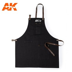 Official AK-Interactive Apron - Black - AK-Interactive - AK-9200