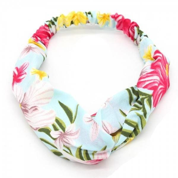 Haarband Flower Power