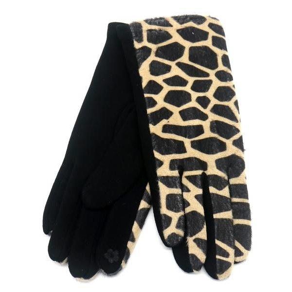 Handschoenen Dierenprint  | Giraffe
