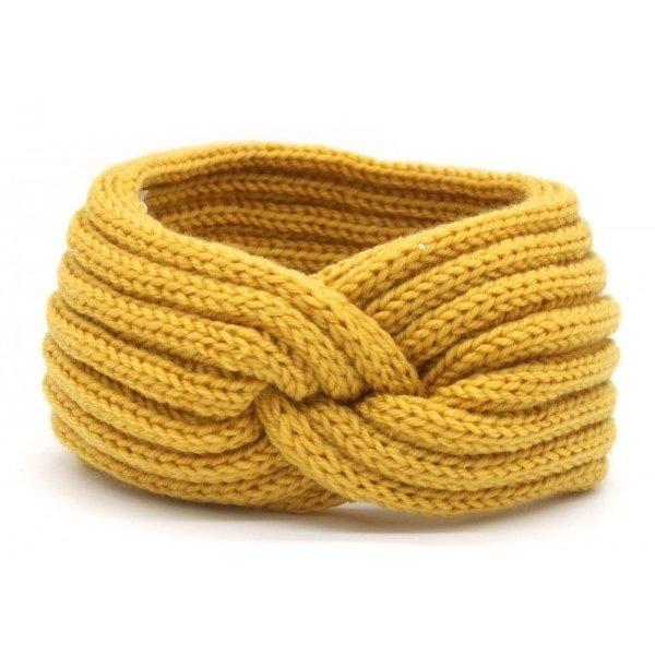 Haarband Knoop | Diverse kleuren — Geel