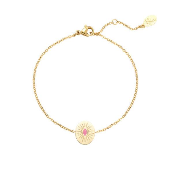 Yehwang Armband | Candy  — Roze