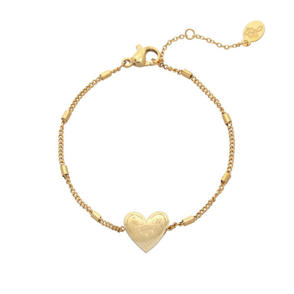 Armband | Love to travel — Goud