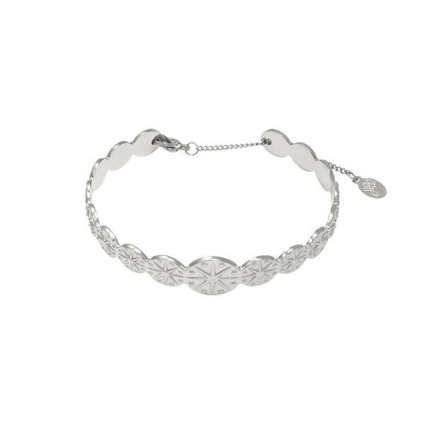 Yehwang Armband genevieve  — Zilver