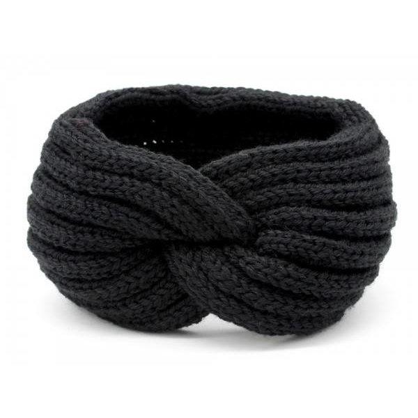 Haarband Knoop |  Zwart