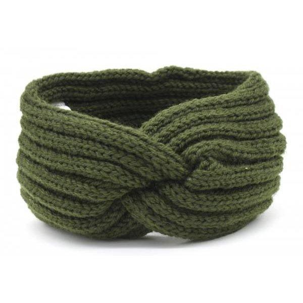Haarband Knoop   Diverse kleuren — Groen