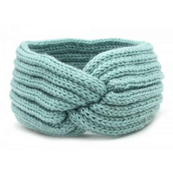 Haarband Knoop | Diverse kleuren — Blauw
