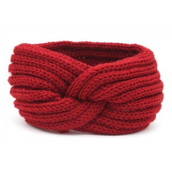 Haarband Knoop | Rood