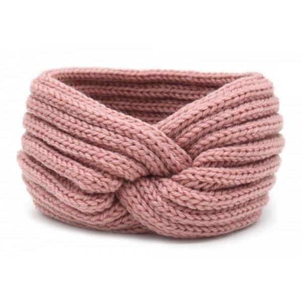 Yehwang Haarband Knoop |  Oud roze