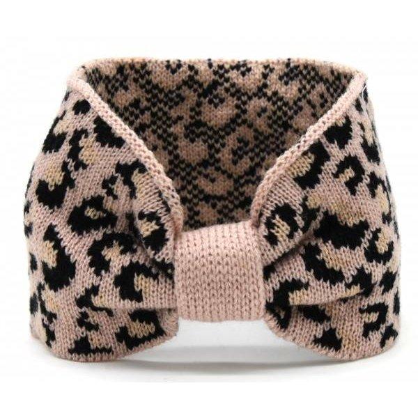 Haarband luipaard | 3 kleuren  — Roze