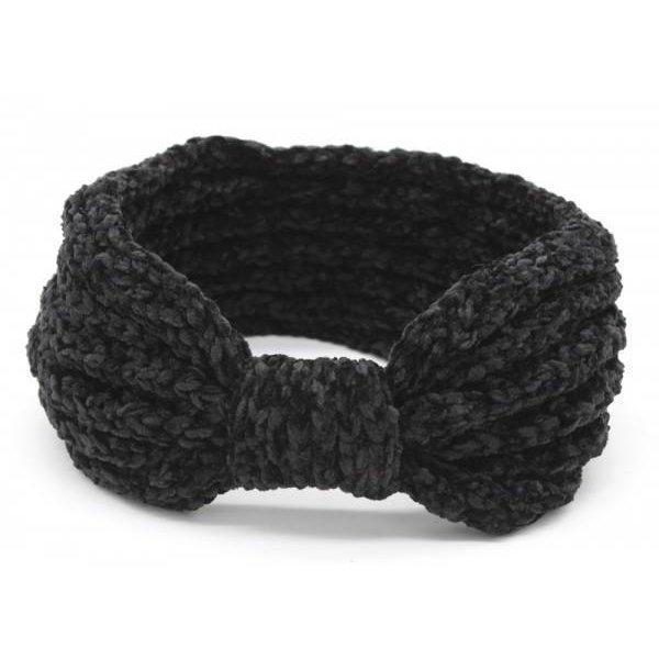 Haarband soft   Diverse kleuren — Zwart