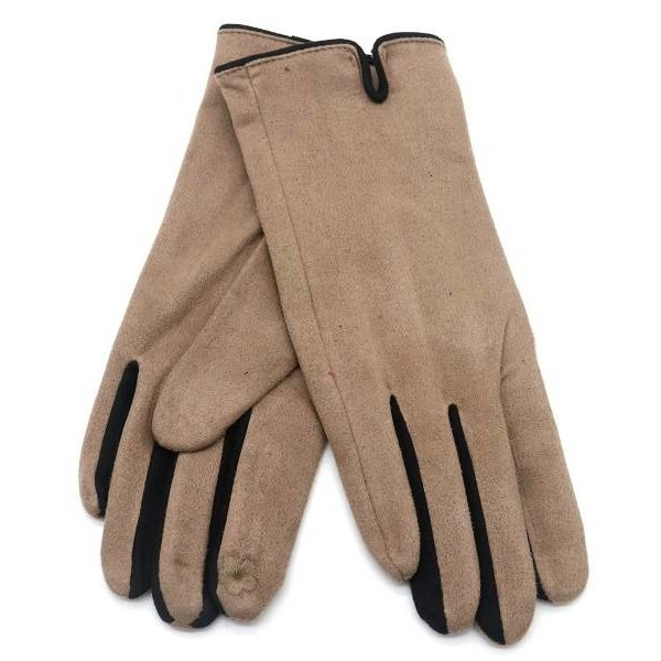 Handschoenen   Bruin - Zwart