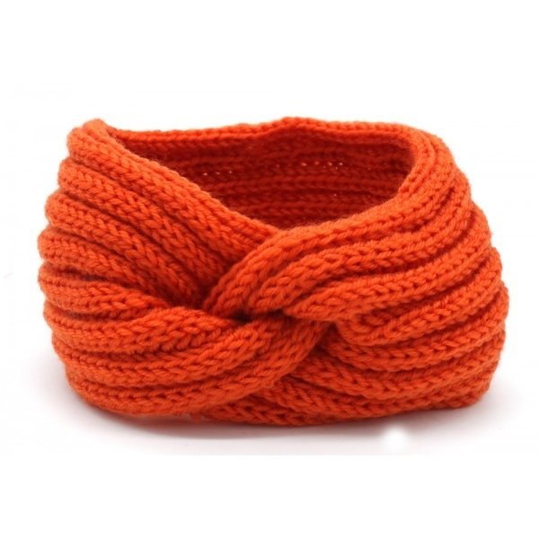 Haarband Knoop | Diverse kleuren — Oranje