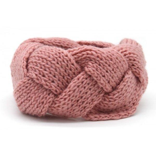Haarband vlecht | Diverse kleuren  — Roze